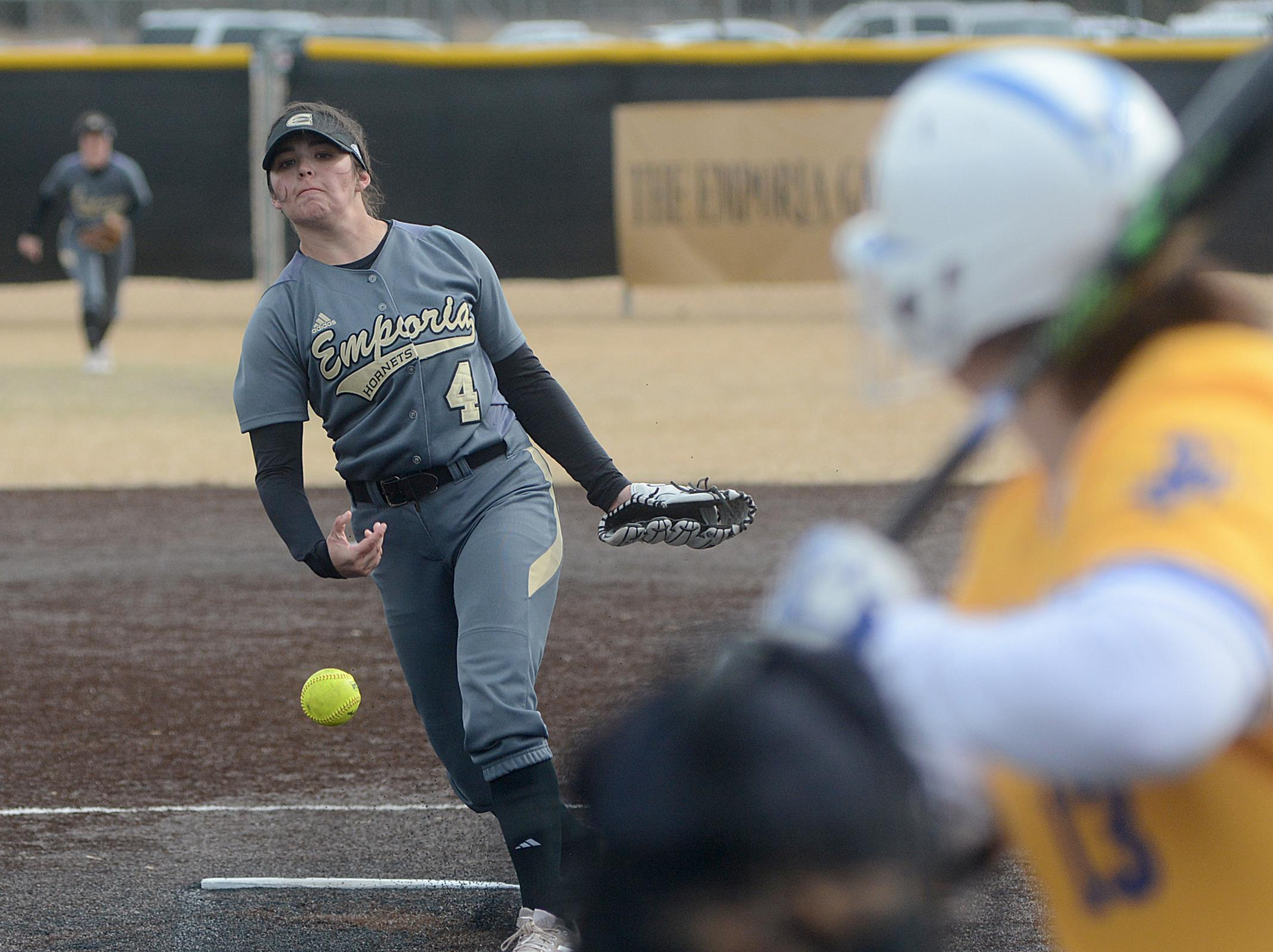 15b111143d9 EMPORIA STATE SOFTBALL HEADS EAST TO PLAY IN THE PEORIA SLUGGER DOME ...