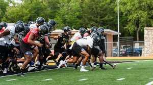 bd4093f4409a7e First Football Practice - August 6, 2018 - Taking the field. 04.12.19. EMPORIA  STATE FOOTBALL ...