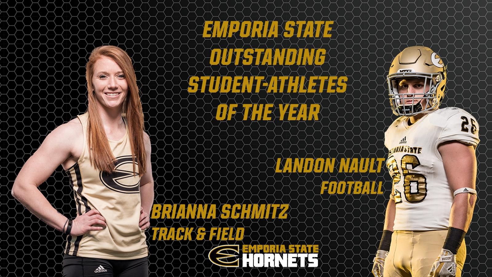 EMPORIA STATE NAMES STUDENT-ATHLETES OF THE YEAR AT